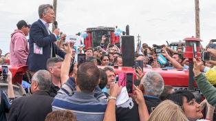 """Macri: """"Vamos a seguir aumentando la producción de alimentos"""""""