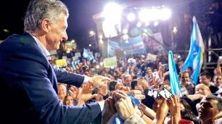 """Macri: """"Queremos defender el futuro que todos soñamos y la democracia"""""""