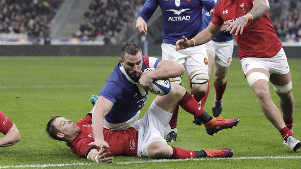 Gales derrotó ajustadamente a Francia y es semifinalista