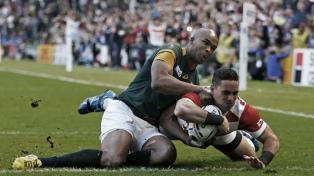 Sudáfrica termina con el sueño de Japón y es el último semifinalista