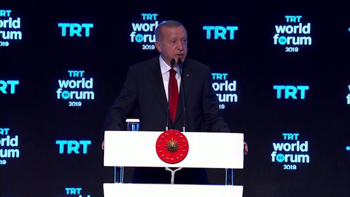 Erdogan dijo que su país