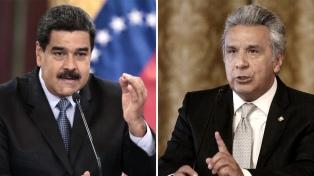 """Maduro llama """"estúpido"""" a Lenín Moreno en otro cruce entre ambos presidentes"""