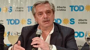 """Fernández convocó """"a llenar las urnas para que el gobierno entienda y dar vuelta una página negra"""""""