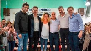 """Salvador y Peña llaman a no volver a """"la provincia de la desidia"""", en un acto en San Fernando"""