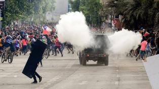 El gobierno chileno informó que son 15 los muertos por las protestas