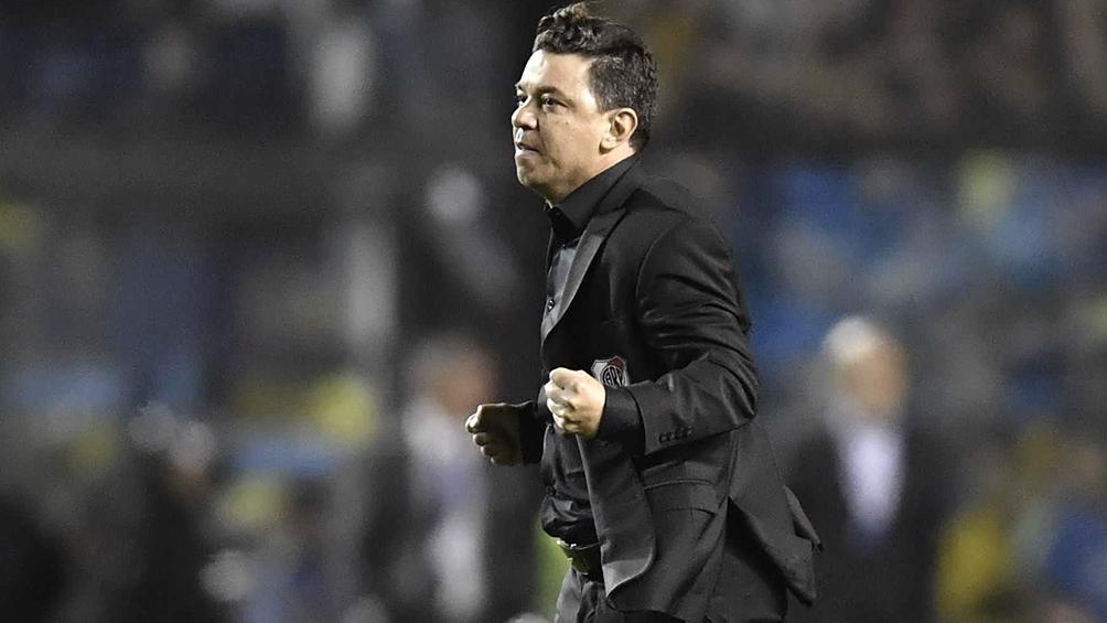 """Gallardo: """"Es difícil analizar el partido porque tengo una felicidad enorme"""""""