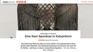 La nota del semanario alemán