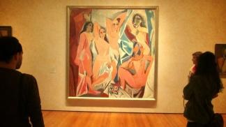 """""""Las señoritas de Avignon"""", de Picasso"""