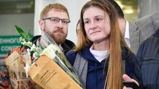 María Butina volvió a Moscú tras estar presa por espionaje en EE.UU.