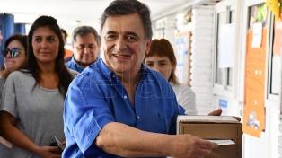 """""""Este es un acto democrático, no una guerra"""", dijo Negri y pidió tener """"serenidad"""""""