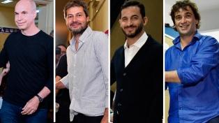 Con discursos moderados, los principales candidatos porteños ya emitieron su voto