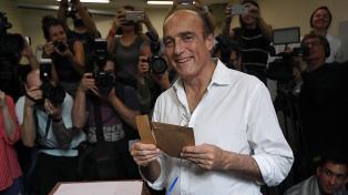 El candidato presidencial uruguayo Martínez busca el triunfo