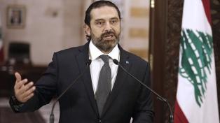 El premier libanés renuncia por las protestas y no hay consenso sobre su reemplazo