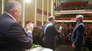 """Alberto Fernández: """"Vamos a enfrentar un tiempo complejo"""""""