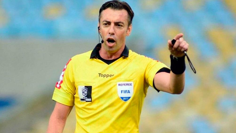 Un brasileño será el árbitro de la final