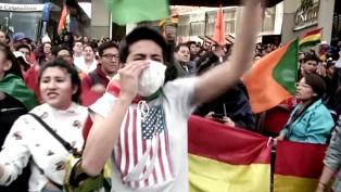 Nuevos choques entre manifestantes oficialistas y opositores