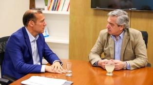 Fernández se reunió con Gutiérrez para analizar el desarrollo de Vaca Muerta