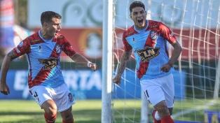 Arsenal y Central Córdoba igualaron en Sarandí