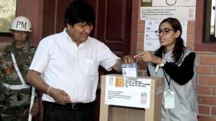 Evo Morales espera que el informe de la OEA sobre elecciones no sea político