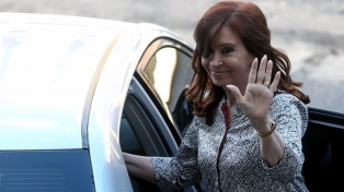 Cristina Kirchner emprendió su séptimo viaje para visitar a su hija Florencia