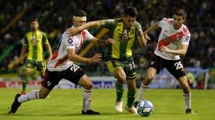 River venció a Aldosivi en Mar del Plata y es líder de la Superliga