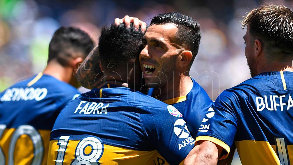 Boca inicia la semana con la presencia de Tevez como principal duda