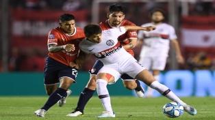 """Independiente venció a San Lorenzo en un partido con """"ausencias técnicas"""""""