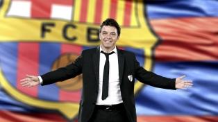 Francescoli pone paños fríos a la salida de Gallardo al Barcelona