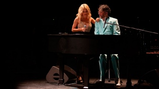 Fito Páez cantó junto a Lali Espósito en Miami y a sala llena