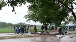 Ordenan desalojar a 100 familias de un predio del Ejército