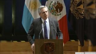 """Fernández: """"Tenemos todo para darle al continente la igualdad que no tiene"""""""