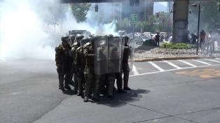 """LA CIDH condenó el """"uso excesivo de la fuerza"""" de Carabineros en las protestas sociales"""