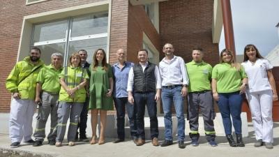 Vidal se reunió con operarios de SAME Lanús - Télam