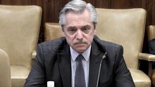 Alberto Fernández agradeció a los gobernadores radicales Morales, Suárez y Valdés
