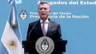 """Macri: """"Rubinstein tomó una decisión unilateral y está mal, nosotros trabajamos en equipo"""""""