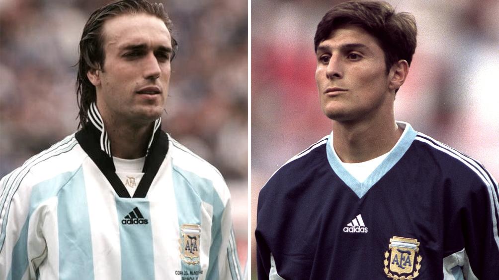 Gabriel Batistuta y Javier Zanetti ya forman parte del Salón de la Fama