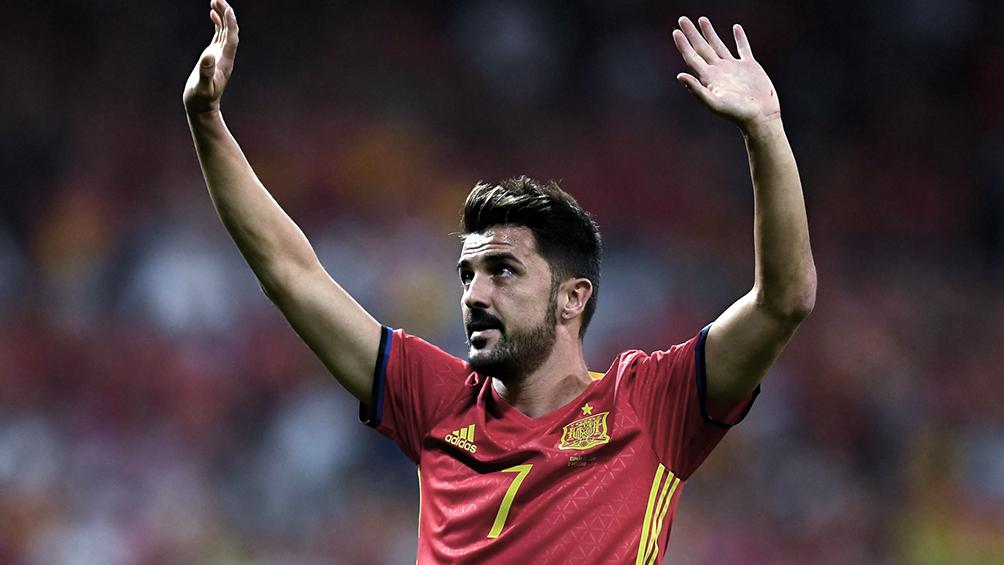 David Villa, que brilló en la seleccion española, anunció su retiro