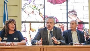 """Fernández: """"Lo que viene es el gobierno de todos ustedes y no de Alberto y de Cristina"""""""