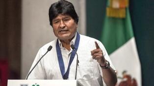 Evo Morales exigió garantías para llamar a la desmovilización de sus adherentes