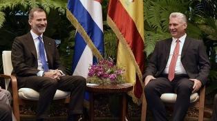 """Díaz Canel agradeció el apoyo de España ante las """"injustas"""" sanciones de EE.UU."""