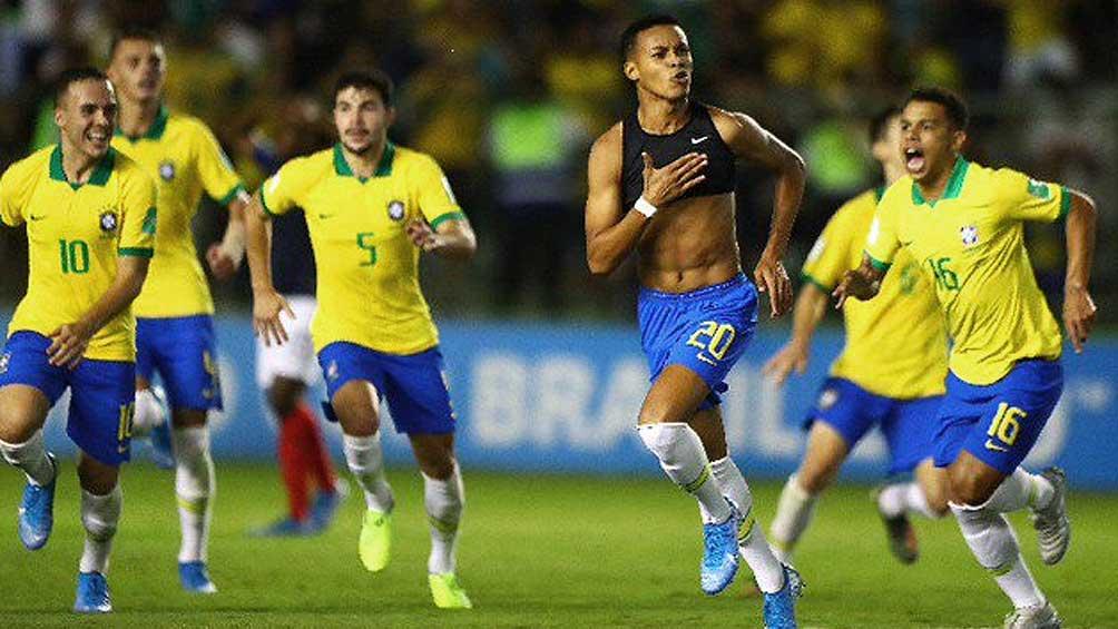 Brasil y México jugarán la final del Mundial Sub-17