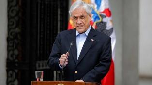 """Piñera, sobre sus dichos de la represión: """"No me expresé en forma precisa"""""""