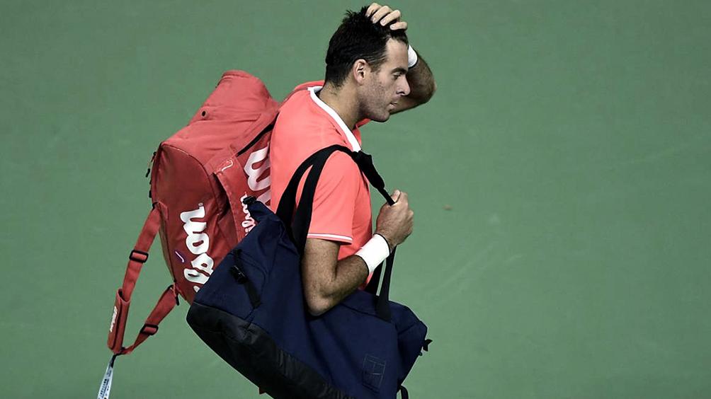 Del Potro anunció que no jugará la exhibición ante Federer en Buenos Aires