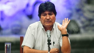 """Morales teme una guerra civil y denuncia que hay """"paramilitares"""" y """"pandilleros"""" pagos"""