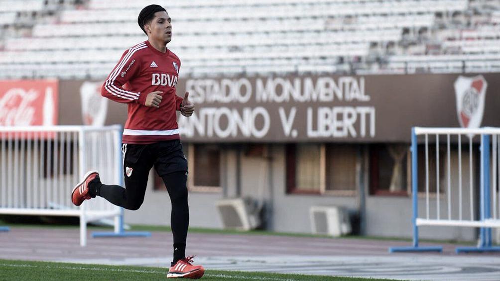 Enzo Pérez y Nicolás de la Cruz vuelven el domingo ante San Lorenzo