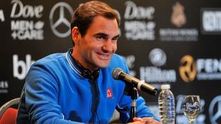 """""""Intentaré mantenerme hasta el último aliento de mi carrera"""", dijo Federer en suelo argentino"""
