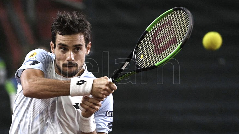 Guido Pella puso a la Argentina al frente ante Croacia en la Copa ATP en Australia
