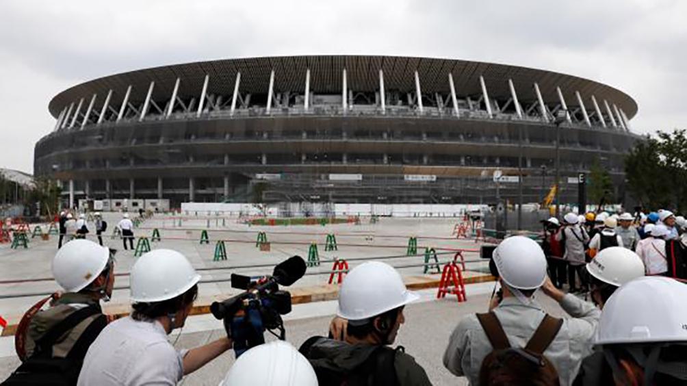 Finalizan la contrucción del nuevo estadio para Tokio 2020