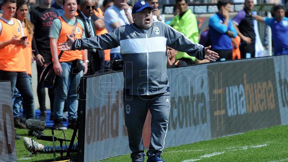 Goles: M. García (Gimnasia); González, Zaracho (Racing).