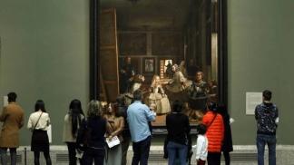 """""""Las Meninas"""", de Velázquez, tal vez el cuadro más emblemático del Museo"""